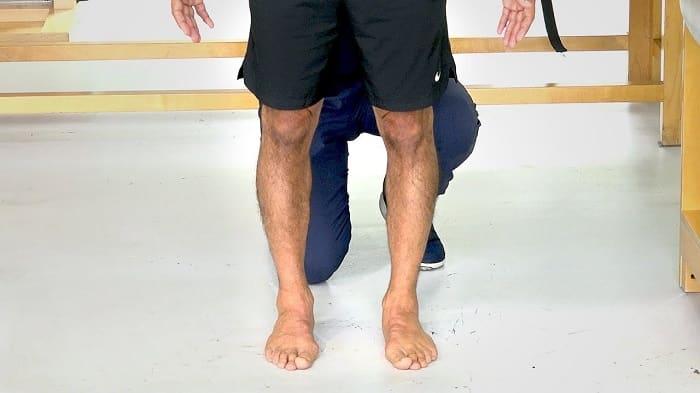 تشخیص پای پرانتزی با معاینات فیزیکی، آزمایش خون و عکسبرداری
